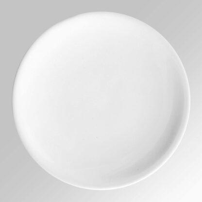 Piatto disco bianco