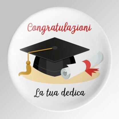 piatto laurea